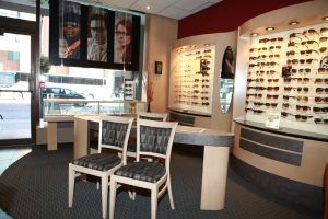 The interior of 360 Eyecare - Metro eyewear boutique